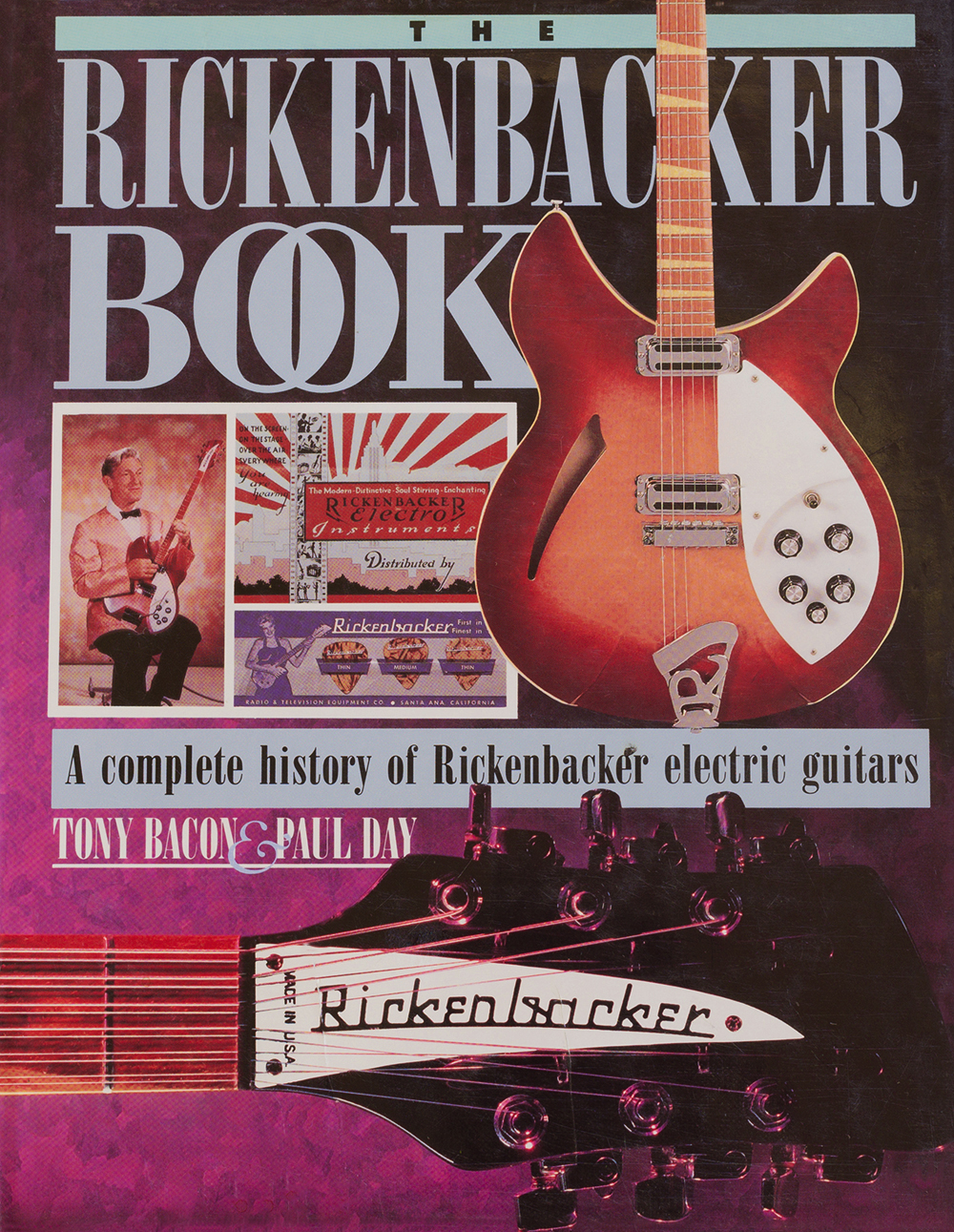 the rickenbacker book, by tony bacon, paul day