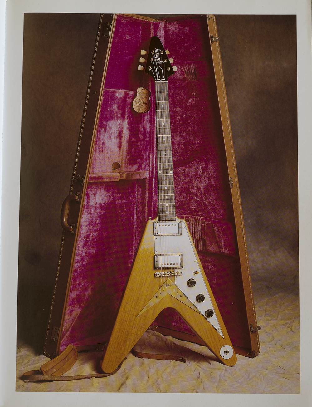 A photo from the early 1990's that was done for the Dream Guitars book session, I participated in the book with many of my instruments