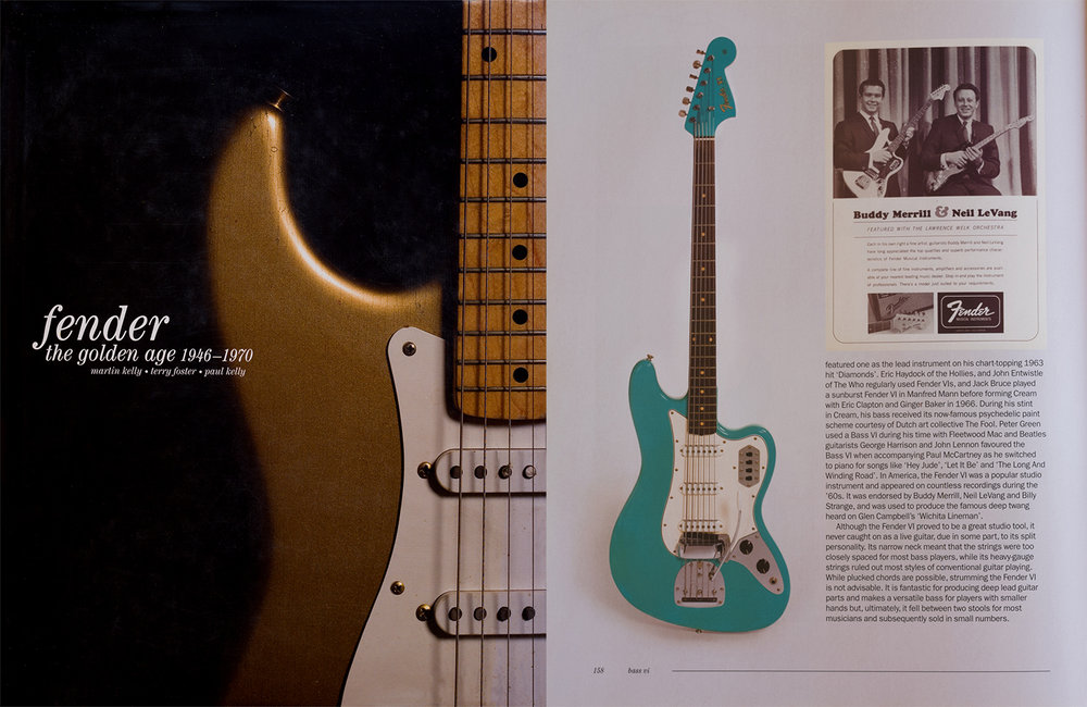 "The glorious example was featured on pg. 158 in ""Fender, The Golden Age"", a fantastic book!"