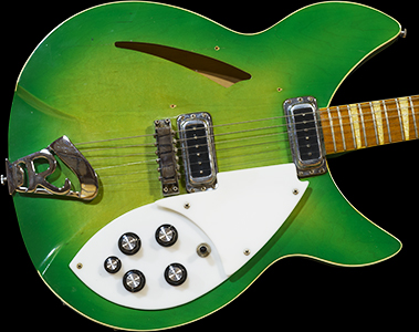 1968 Rickenbacker, 360-DB model in RARE Green-Glo finish