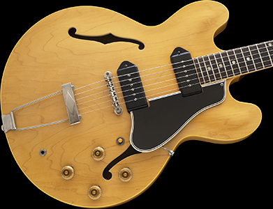 1959 ES-330TDN, Rare NATURAL, 1 of only 79 SHIPPED