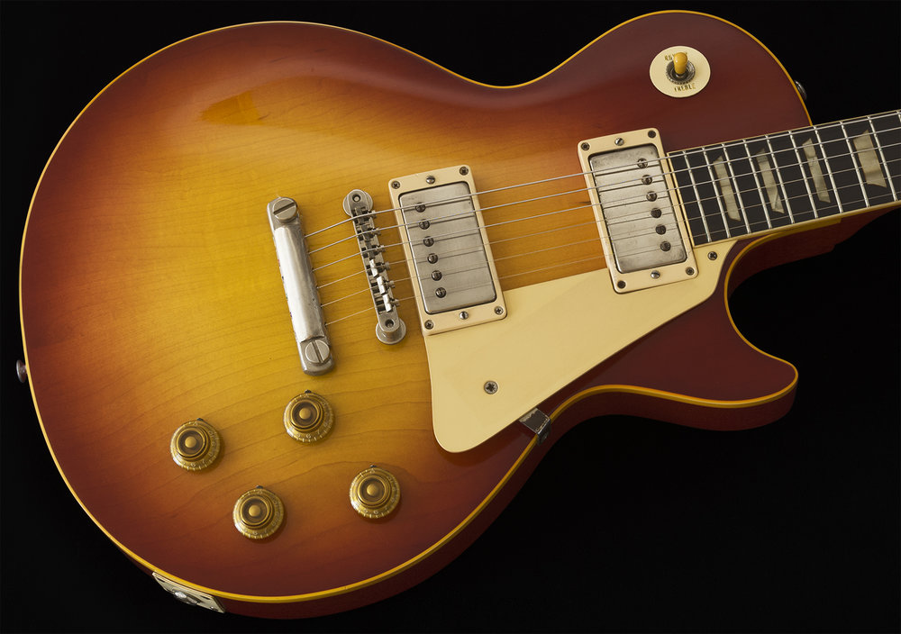 1958 Les Paul Standard, Cherry Sunburst, SO CLEAN