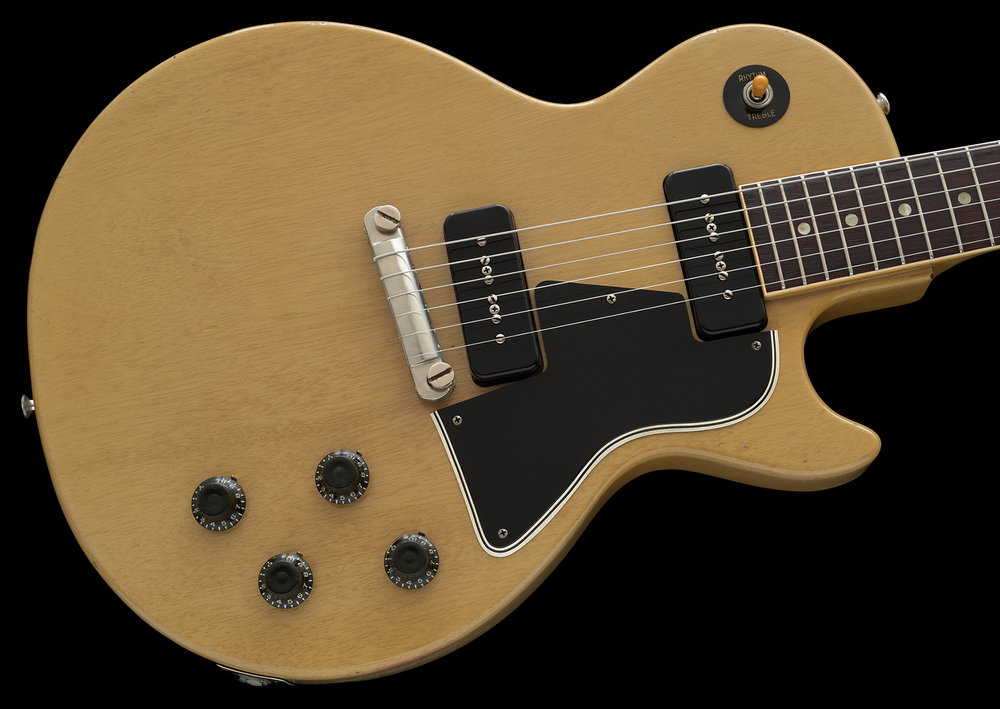 1957 Les Paul Special, Limed Mahogany finish