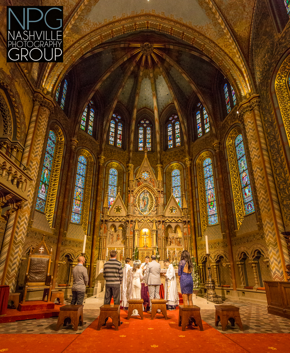 Budapest Hungary destination wedding - Nashville Photography Group