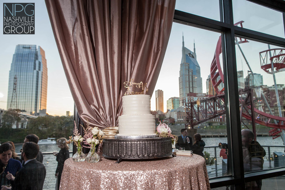 Tinsel and Derek were married on Saturday, October 17th, 2015  at the Bridge building in downtown Nashville, Tennessee.