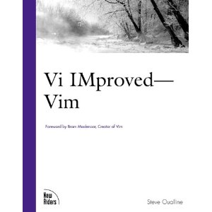 Vi iMproved (VIM)  [Paperback]        Steve Oualline    (Author)       $32.96             All of the books published to date focus on vi alone not the expanded vim shipping with every major Linux distribution. In true New Riders' form, the vim reference will be a definitive, concise reference for the professional Linux user and developer. This tutorial takes a task oriented approach allowing you to learn only the commands that make your job easier.