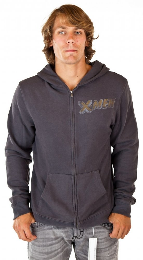 Junk Food X-Men Hoodie - Grey $49.99 - $62.00 Most Helpful Customer Reviews 4.0 out of 5 stars Warm and stylish. Perfect for any X-Men fan. January 2, 2013 By Stephen A. Rivers This is a heavy yet comfortable sweatshirt. Since it is heavy, it keeps the wearer warm. The X-Men logo on the front breast was more faded out than the print on the back, but it doesn't ruin the look. A quality sweatshirt for a great price.