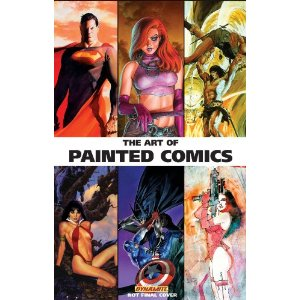 "The Art of Painted Comics HC [Hardcover] Chris Lawrence (Author), Alex Ross (Editor, Artist), Various Artists (Author) $31.49  The history of painters in comics goes back to the dawn of pulp magazine covers. From ""The Shadow"" and ""The Spider"" to ""The Black Bat"" and so many other characters, painter's works have graced the covers of comics and pulps, which have influenced many artists over the decades. This deluxe coffeetable art book, edited and overseen by Alex Ross - one of the comic industry's most recognized painters, whose expertise has helped guide and define its contents - is the most important, most comprehensive prestige hardcover retrospective of the history of painters in comics, of all time."