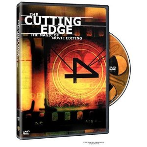 "The Cutting Edge - The Magic of Movie Editing Kathy Bates (Actor), Zach Staenberg (Actor), Wendy Apple (Director) | Rated: NR | Format: DVD $18.00  ""Editing is what makes film a film."" That audacious statement is made at the beginning of this 2005 documentary about the art of film editing. After listening to many editors and directors, movie novices as well as cinephiles may agree. Kathy Bates narrates this whirlwind history of the art punctuated by dozens of scenes to illustrate the effect of film editing in heightening reality and making a visceral impact on the filmgoer."