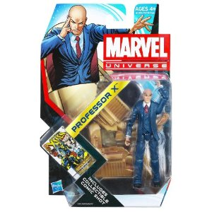 "Marvel Universe 3 3/4"" Professor X Action Figure Series 4 #022 2012     by  Hasbro      $17.99    Product Features      Includes Hover Chair   Collectible Comic Shot"