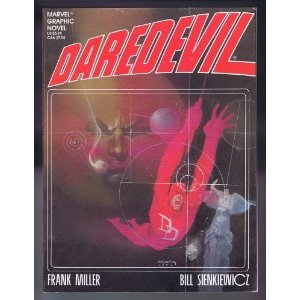 "Daredevil: Love and War  [Paperback]        Frank Miller   (Author),   Bill Sienkiewicz   (Author)      14 new  from  $19.49       28 used  from  $4.97       2 collectible  from  $19.49        This is the Miller Daredevil story that got away. Coming out around the same time as Miller was knocking the socks off of the comic world with the ""Born Again"" story in the funny book format, this oversize graphic novel slipped under many radars. Like many of Marvel's graphic novel series, this is part of the main character's continuity and follows up on events of Miller's 1st run of DD."