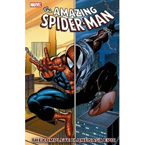 Spider-Man: The Complete Clone Saga Epic, Book 1 [Paperback] Tom DeFalco (Author), J. M. Dematteis (Author), Terry Kavanagh (Author), Howard Mackie (Author), Tom Lyle (Illustrator), Liam Sharp(Illustrator), Sal Buscema (Illustrator), John Romita Jr. (Illustrator), Phil Gosier (Illustrator), Tom Palmer (Illustrator), Steven Butler(Illustrator), Ron Lim (Illustrator), Mark Bagley (Illustrator) $25.54  The Jackal is back, and Spider-Man is beside himself again! Where did the Spider-duplicate come from, and where has he been? Is he Peter Parker's dark side…or his better half? Everyone wants answers, and the cloaked killer Kaine is ready to rip them out of whoever has them! Plus: Venom and Vermin! Carnage and Chameleon! New allies, new enemies. and a new crimefighting identity! No other Spider-storyline was as innovative or infamous as the 1990s Clone Saga, and you can follow it right from the start!