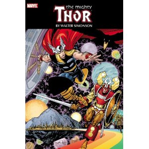 Thor by Walter Simonson Omnibus  [Hardcover]       Walter Simonson  (Author)      13 new  from  $89.75       16 used  from  $88.62        Considered by many to be the greatest run on Thor ever, Walt Simonson's classic tales of the God of Thunder are collected here-completely remastered from the original artwork and newly colored by Steve Oliffe! And there are too many timeless tales to count: The Casket of Ancient Winters! The death of Odin! The origins of Asgard! The sacrifice of the Executioner! Thor as a frog! The Mutant Massacre!
