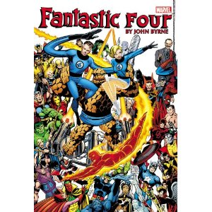 Fantastic Four by John Byrne Omnibus - Volume 1 [Hardcover] John Byrne (Author), Chris Claremont (Author), Marv Wolfman (Author), Bill Mantlo (Author), Stan Lee (Author),Roger Stern (Author), Mike Zeck (Illustrator), Ron Wilson (Illustrator) $120.83  It was the world's greatest comic magazine - again! Not since the days of Stan Lee and Jack Kirby had a creator so perfectly captured the intense mood, cosmic style and classic sense of adventure of Marvel's First Family. Fresh off an earth-shattering and reputation-making run as penciler on UNCANNY X-MEN, John Byrne proved his writing talent was every bit the equal of his art as he pulled double-duty on FANTASTIC FOUR, launching Reed, Sue, Ben and Johnny into realms of imagination and wonder into which few creators before had dared to travel. From the four corners of the globe to the farthest reaches of space to the deepest depths of the Negative Zone, the FF face off against foes old and new - including the Dr. Doom, Galactus and Annihilus!