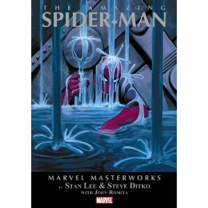The Amazing Spider-Man, Vol. 4 (Marvel Masterworks)  [Paperback]       Stan Lee  (Author),  Steve Ditko  (Illustrator),  John Romita  (Illustrator)      $16.49            The epic continues as Stan Lee, Steve Ditko, and John Romita continue their historic run on the Amazing Spider-Man! As Spider-Man struggles to stop the crime spree of the Master Planner (secretly Dr. Octopus) and his men, he ends up buried under a collapsed water tower! See Spidey use his strength as never before to get free! Peter Parker tries balancing his new life at college and his Aunt May's ailing health! Ned Leeds wants to marry Betty Brant, but she's still got feelings for her old flame, Peter, who's too preoccupied to even notice his beautiful new classmate Gwen Stacy!
