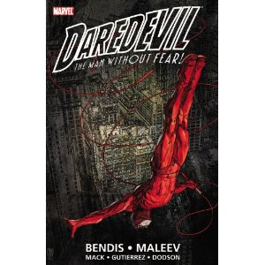 Daredevil by Brian Michael Bendis & Alex Maleev Ultimate Collection - Book 1  [Paperback]        Brian Michael Bendis   (Author),  David Mack  (Illustrator),  Alex Maleev  (Illustrator)      $23.09            During a character-defining run, Brian Michael Bendis crafted a pulp-fiction narrative that exploited the Man Without Fear's rich tapestry of characters and psychodrama, and resolved them in an incredibly nuanced, modern approach. Now, this Eisner Award-winning run is collected across three titanic trade paperbacks! In this volume, witness the Kingpin's downfall at the hands of Sammy Silke and see how a down-on-his-luck FBI agent can change Matt's life forever.