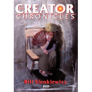 The Creator Chronicles: Bill Sienkiewicz     Bill Sienkiewicz   (Actor) ,  Robin Dale   (Director)   |   Format:  DVD              Only 1 left in stock (more on the way).          $24.95                  Woodcrest Productions   is at last pulling back the curtain and revealing these amazing creators in a new series of documentaries about comic book creators. Featuring exclusive interviews with some of the biggest names in comics,   The Creator Chronicles   profiles creators via in-depth, one-on-one video interviews, told by the creator in their own words.