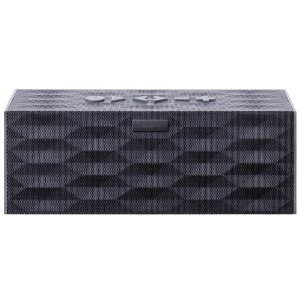 Jawbone BIG JAMBOX Wireless Bluetooth Speaker - Graphite Hex - Retail Packaging     by  Jawbone       $299.00           Technical Details      Wireless speaker and speakerphone   Huge hi-fi sound that can fill any room or outdoor space   Small and compact; easily move it from room to room or take with you   Up to 15 hours of continuous play on a single charge   Connects via Bluetooth or 3.5mm stereo cable