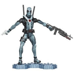 "Marvel Classic Legends 6"" Figure - DeadPool     by  Hasbro       $19.00           Product Features      Detailed figure looks like the famous Marvel comic character   Arm him with his own weapons   Stand him on his display stand   Figure comes with accessories and display stand"