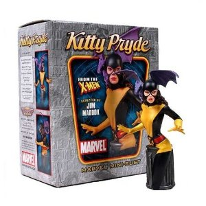Kitty Pryde Mini Bust by Bowen Designs by Bowen Designs $125.00  Product Features mint in the package low production run never displayed for sale