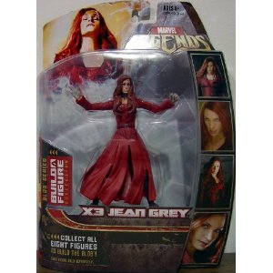 "Marvel Legends Series 17 (Hasbro Series 2) Action Figure X-Men 3 Jean Grey Possessed Variant by Marvel $22.99  Product Features Marvel Legends 6"" Action Figure from Hasbro From the Blob series Build A Figure collection! Collect all 8 Figures to Build the Blob action figure! For Ages 4 & Up"
