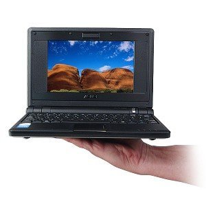ASUS Eee PC 2G Surf (7-Inch Display, Intel Mobile Processor, 512 MB RAM, 2 GB Hard Drive, Linux Preloaded) Galaxy Black     by  Asus      1 used   from   $150.00    Color:  Galaxy Black       Powered by 800 MHz Intel Mobile Processor   512 MB RAM, 2 GB Hard Drive   7-inch wide color TFT LCD with an 800 x 480-pixel resolution (WXGA)   Linux Preloaded