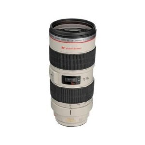 Canon EF 70-200mm f/2.8L IS USM Telephoto Zoom Lens for Canon SLR Cameras     by  Canon      $2,199.00     EF mount; telephoto zoom lens   Ultra-low Dispersion glass; image stabilizer; inner focusing; full-time manual focus; circular aperture   70-200mm focal length   f/2.8 constant maximum aperture   Micro UltraSonic Motor (USM) Includes case and lens hood