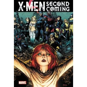 X-Men: Second Coming  [Paperback]       Christopher Yost  (Author),  Craig Kyle  (Author),  Mike Carey  (Author),  Matt Fraction  (Author),  Zeb Wells  (Author),  David Finch  (Illustrator), Mike Choi  (Illustrator),  Terry Dodson  (Illustrator),  Ibraim Roberson  (Illustrator),  Greg Land  (Illustrator)      $20.25            The climax of four years of X-Men stories is the X-Event of 2010! What started in HOUSE OF M with the Decimation of mutantkind and erupted with the first new mutant birth in MESSIAH COMPLEX finishes here. In the epic crossover SECOND COMING, Cyclops' faith pays off when Cable returns to the present with Hope, the girl he believes to be the mutant messiah. But will she be the savior or destroyer of mutantkind? We may never know, as she is the target of an initiative for mutant eradication unlike anything the X-Men have ever experienced. Many will be wounded. Several will die. Is Hope worth it?