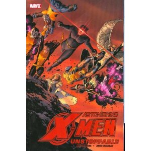 Astonishing X-Men, Vol. 4: Unstoppable [Paperback] Joss Whedon (Author), John Cassaday (Illustrator) $13.70  Strap yourselves in, folks! It's Joss Whedon and John Cassaday's final arc on Astonishing X-Men! After the shocking and brain-smashing events of recent issues, the X-Men are off to protect the Earth from its destruction at the hands of the Breakworld. And when it's all over, nothing will ever be the same! No, really, we mean it! Whedon and Cassaday prove they are more than Astonishing: They are unstoppable! Collects Astonishing X-Men #19-24 and Giant-Size Astonishing X-Men #1.