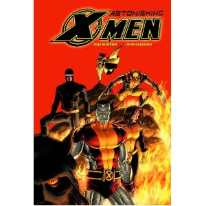 Astonishing X-Men, Vol. 3: Torn  [Paperback]        Joss Whedon   (Author),  John Cassaday  (Illustrator)      $14.53            They're back! The chart-topping super-team of Joss Whedon and John Cassaday return for more Astonshing X-Men! If you thought their past efforts were full of shocks and surprises, hold onto your eyeballs - because you haven't seen anything yet, as things go from peculiar to just plain bizarre! Emma Frost's erratic behavior has the X-Men spinning in a non-stop downward spiral. Will an unlikely union be the final straw? After secretly lying in wait for months, the new Hellfire Club makes its move! Plus: The X-Man destined to destroy the Breakworld stands revealed! Who is it, and what will be their fate? Collects Astonishing X-Men #13-18.