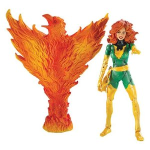NOTE: This is not a duplicate. This is a different Phoenix action figure. I'm posting them both in order as Merlin intended. It is vital that he get one of them asap.     $38.98             One of the first mutants recruited by Professor Charles Xavier, Jean Grey has been an anchor of the X-Men since the team's inception. Tempering telepathy and telekinesis with warmth and compassion, Jean has overcome seemingly insurmountable challenges, rising from the ashes of her apparent death like a Phoenix to stand in defense of a world on the brink of genetic war! A telepath, Jeany Grey can read minds, project thoughts and illusions into other's heads, and discharge mind-numbing mental bolts. Her telekinetic abilities allow her to levitate herself, other living beings and inanimate objets.