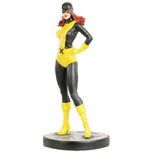 "Note: I'm moving this up the posting queue, as it completes a trilogy of Jean Grey figures for this week. This is a pre-order for October—there must be a benefactor out there who can make Merlin's wish come true on this. Bowen Designs Jean Grey Marvel Girl Painted Statue (Original Version) by Bowen Designs $224.95 Product Features A Bowen Designs sculpt Sculpted by Mike Cusanelli Over 12"" tall Strictly limited Display ready"