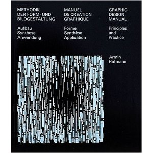 Graphic Design Manual: Principles and Practice/Methodik Der Form-Und Bildgestaltung : Aufbau Synthese Anwendung/Manuel De Creation Graphique : Forme Synthese Application (Multilingual Edition) [Paperback]        Armin Hofmann   (Author)        $64.32            This newly revised book was first published in 1965. Elements of image and form are analysed and examined with regard to their inherent laws. The lessons of methodical design are used today in computer monitor design as well. The desktop publishing technique requires very clear conceptual and methodical working processes. This book, which is divided into computer-system-friendly sections, will thus serve this new circle of users as a valuable introduction.
