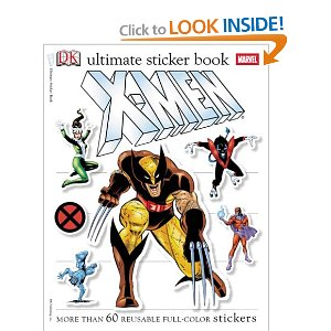 Ultimate Sticker Book: X-Men (Ultimate Sticker Books) [Paperback] DK Publishing (Author) 6 new from $69.98 12 used from $37.80 Featuring Wolverine, Storm, Magneto, and dozens of other mutant heroes and villains, these exciting sticker books-one with glow-in-the-dark stickers-take the reader into the heart of the X-Men world.