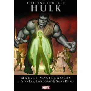 Incredible Hulk, Vol. 1 (Marvel Masterworks)  [Paperback]        Stan Lee   (Author),  Jack Kirby  (Illustrator),  Steve Ditko  (Illustrator)        $16.49            Caught in the heart of a nuclear explosion, victim of gamma radiation gone wild, Dr. Robert Bruce Banner now finds himself transformed during times of stress into the dark personification of his repressed rage and fury: The Incredible Hulk! Collects The Incredible Hulk #1-6.