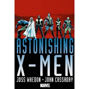 Astonishing X-Men Omnibus  [Hardcover]        Joss Whedon   (Author),  John Cassaday  (Illustrator)        $47.25            Winner of multiple prestigious Eisner Awards, Whedon and Cassaday's Astonishing X-Men was a smash hit with critics and fans alike from the very first issue - winning praise from dozens of top media outlets including Entertainment Weekly, Publishers Weekly, TV Guide, and New York Magazine, as well as racking up nearly every major comic-book industry award.