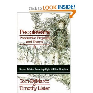 Peopleware: Productive Projects and Teams (Second Edition)[Paperback] Tom DeMarco (Author), Timothy Lister (Author) $32.59  Demarco and Lister demonstrate that the major issues of software development are human, not technical. Their answers aren't easy—just incredibly successful. New second edition features eight all-new chapters.