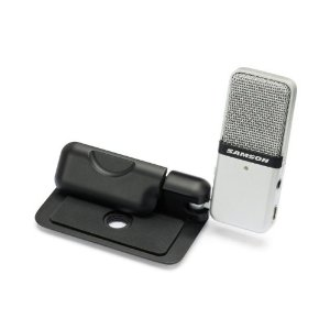 Samson Go Mic Compact USB Microphone - Plug n' Play Price: $45.83 Product Features Portable USB condenser microphone Plug and Play Mac and PC compatible, no drivers required Custom compact design that clips to a laptop or sits on a desk Perfect for recording music, podcasting and field recording Ideal for voice recognition software, iChat, VoIP and web casting