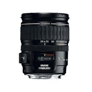 Canon EF 28-135mm f/3.5-5.6 IS USM Standard Zoom Lens for Canon SLR Cameras    $376.00    Technical Details     28-135mm standard zoom lens with f/3.5-5.6 maximum aperture for Canon SLR cameras   Delivers sharp, natural-looking pictures in dim lighting without requiring flash or tripod Ring-type USM adjustment system for swift, silent autofocusing and full-time manual focus   Close focusing distance of 20 inches; 75- to 18-degree diagonal angle of view   Measures 3.1 inches in diameter and 3.8 inches long; weighs 18.9 ounces; 1-year warranty