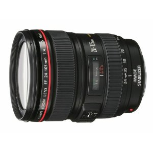 Canon EF 24-105mm f/4 L IS USM Lens for Canon EOS SLR Cameras $1009.90 - Not Prime Eligible Technical Details * 24-105mm standard zoom lens with f/4 maximum aperture for Canon EOS SLR cameras * 1 Super UD glass element and 3 aspherical lenses minimize chromatic aberration and distortion * Ring-type USM system delivers silent but quick autofocus (AF); full-time manual focus * Image Stabilizer technology steadies camera shake at up to 3 stops; weighs 23.6 ounces * Dust- and moisture-resistant; measures 3.3 inches in diameter and 4.2 inches long; 1-year warranty