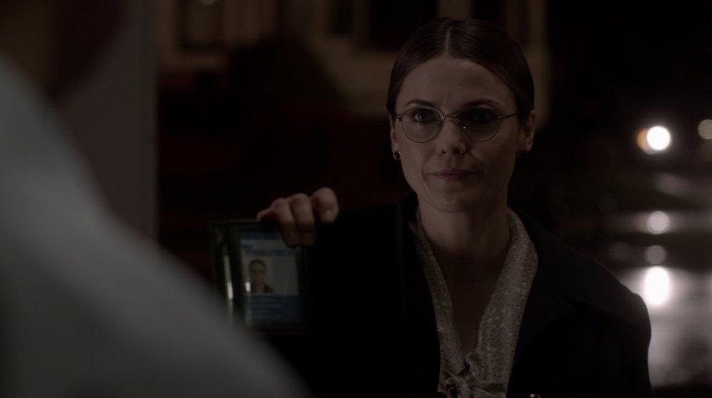 Undercover Elizabeth is testing a KGB asset