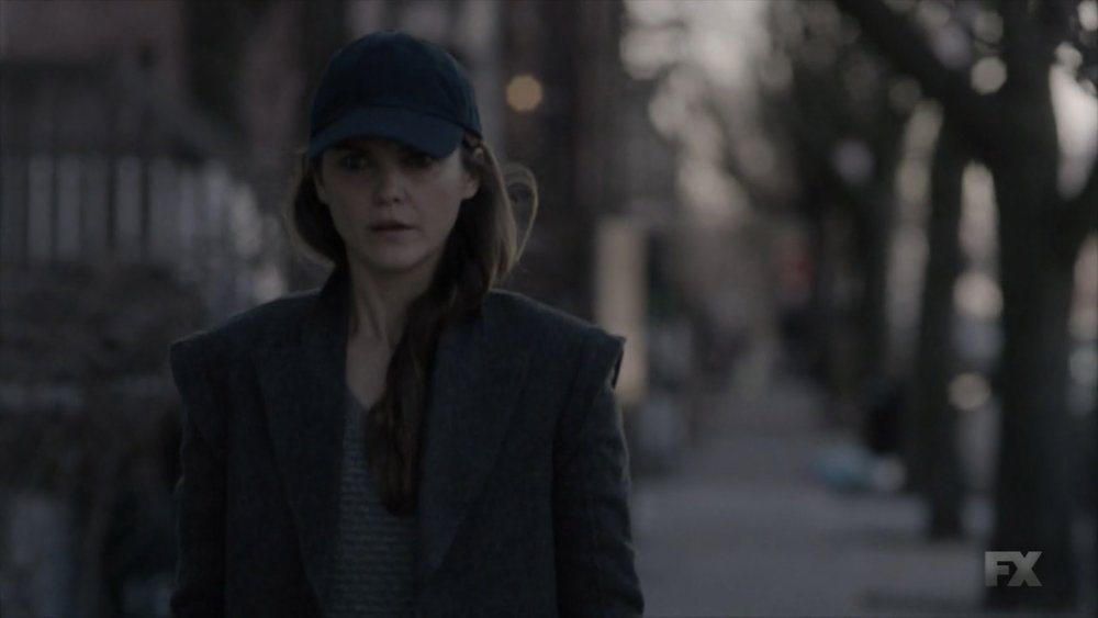 Not sure Elizabeth in a ball cap counts as a disguise, but for the finale I'm leaving no stone unturned