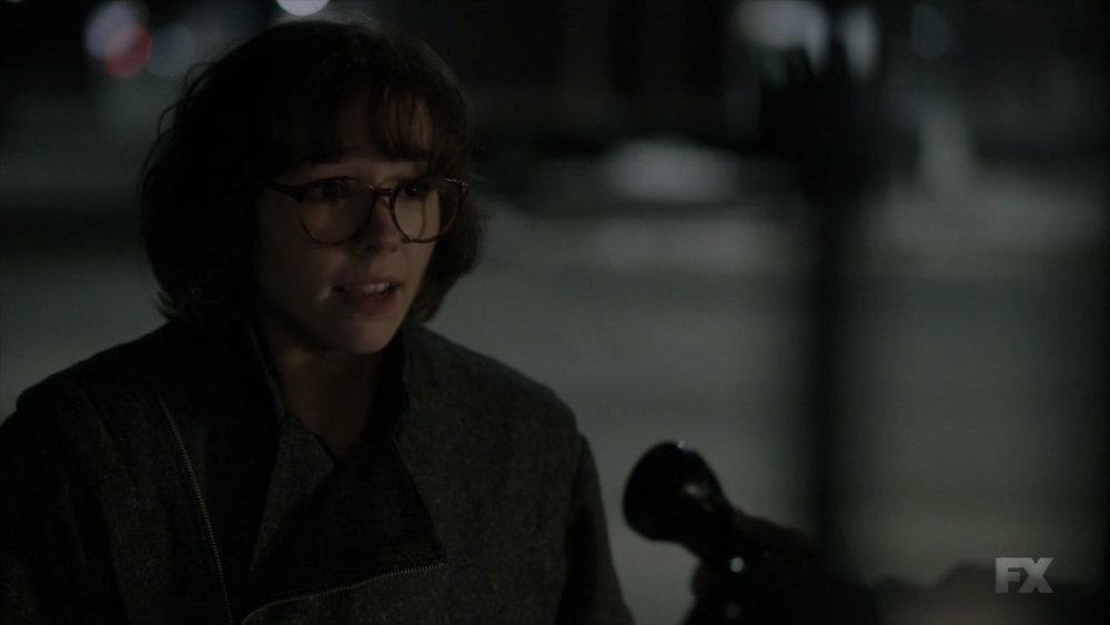 I loved this Paige disguise so much, it made me wish they had started her spying sooner
