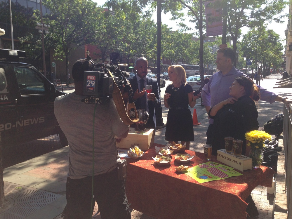 Serrano Street Fare and Old City District Inside Out Festival on FOX 29 Good Day Philadelphia