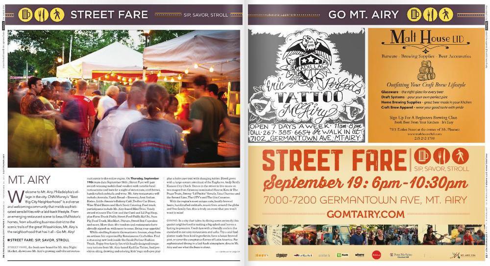 Mt. Airy Street Fare, Sip Savor Stroll, Story by Kory Aversa, Aversa PR