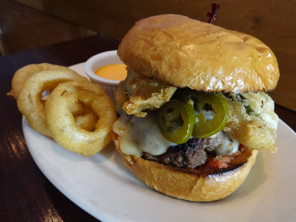 Ground Bacon Burger - Photo from Aversa PR & Events