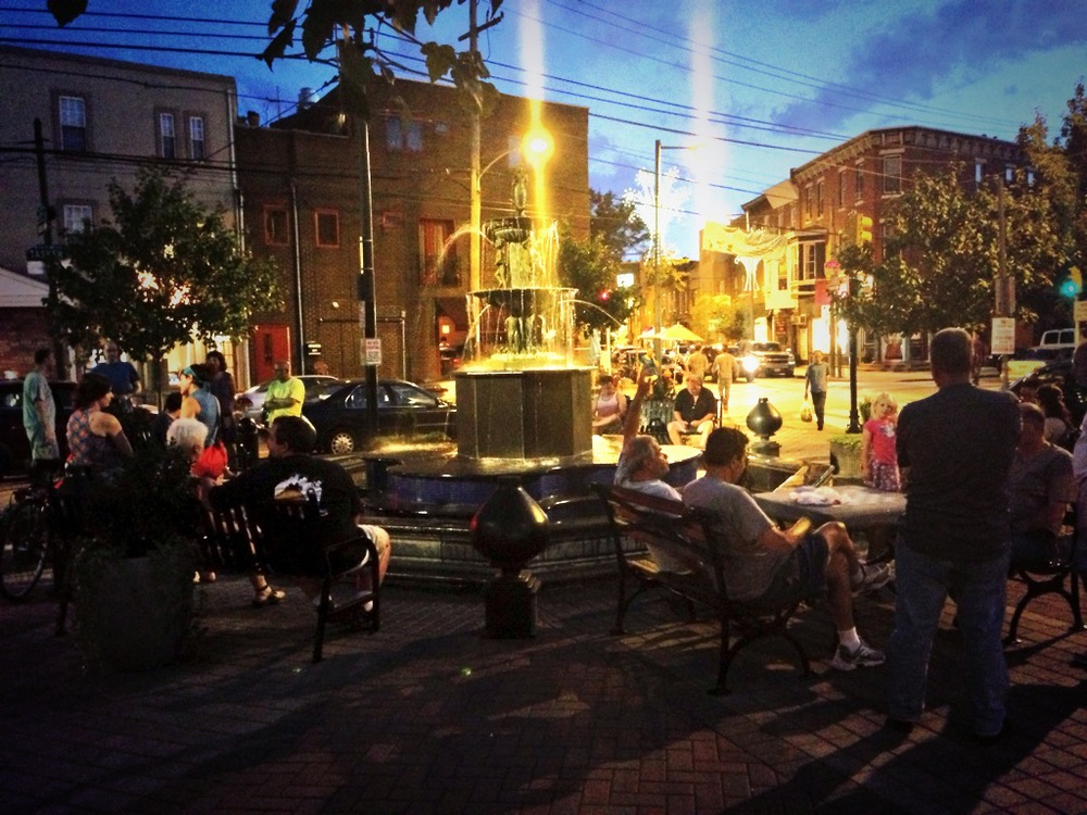 East Passyunk Avenue QOTA LGBT Singing Fountain