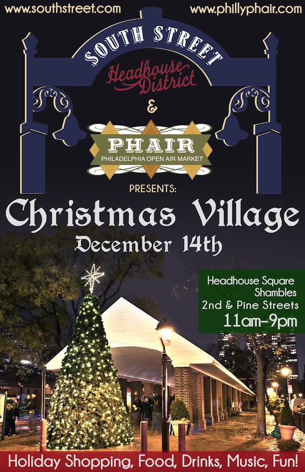 South Street Christmas Village PHAIR