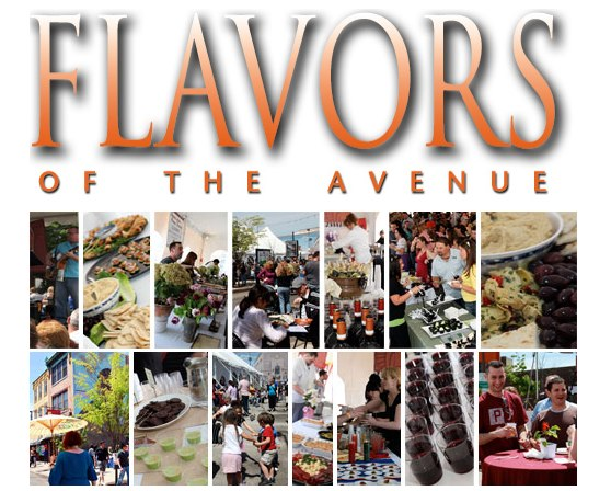 Flavors of the Avenue Announced for Saturday April 26, 2014