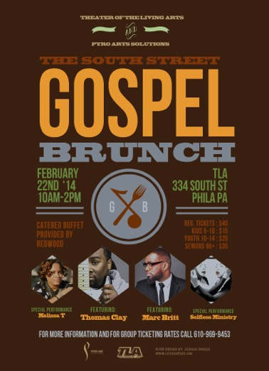 South Street Gospel Brunch